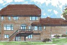 Home Plan - Craftsman Exterior - Rear Elevation Plan #320-1006