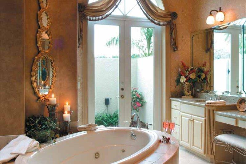 Mediterranean Interior - Master Bathroom Plan #930-317 - Houseplans.com
