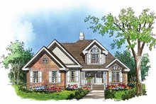Dream House Plan - Traditional Exterior - Front Elevation Plan #929-251