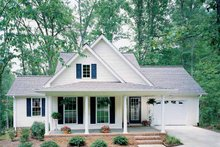 Country Exterior - Front Elevation Plan #929-254