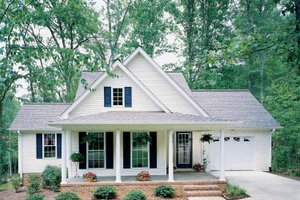 Home Plan Design - Country Exterior - Front Elevation Plan #929-254