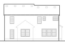 House Plan Design - Colonial Exterior - Rear Elevation Plan #1053-72