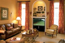 House Design - Country Interior - Family Room Plan #927-781