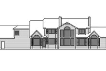 Country Exterior - Rear Elevation Plan #303-472