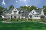 Farmhouse Style House Plan - 3 Beds 3 Baths 2396 Sq/Ft Plan #120-251 Exterior - Front Elevation