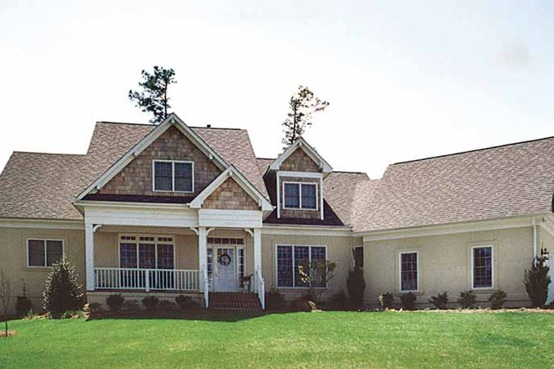 Craftsman Exterior - Front Elevation Plan #453-172 - Houseplans.com