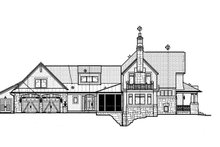 House Design - Craftsman Exterior - Other Elevation Plan #928-185