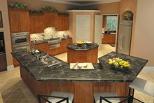 Home Plan - Mediterranean Interior - Kitchen Plan #930-175