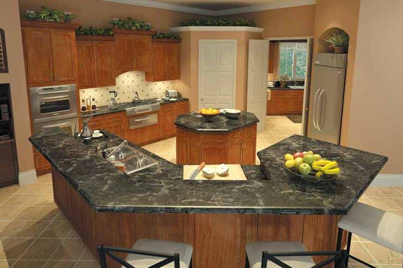 Mediterranean Interior - Kitchen Plan #930-175 - Houseplans.com