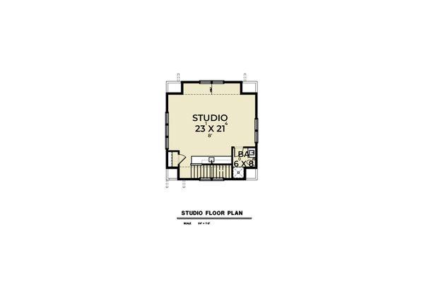 Dream House Plan - Farmhouse Floor Plan - Upper Floor Plan #1070-138