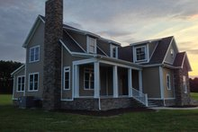 Home Plan - Country Exterior - Front Elevation Plan #927-163