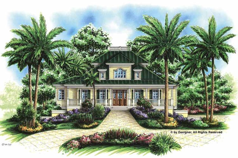 Southern Exterior - Front Elevation Plan #1017-57 - Houseplans.com