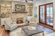 Country Style House Plan - 3 Beds 3.5 Baths 3043 Sq/Ft Plan #928-13 Interior - Family Room