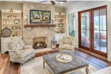 Country Interior - Family Room Plan #928-13