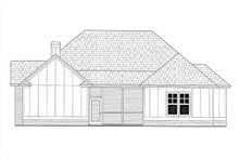 Architectural House Design - Craftsman Exterior - Rear Elevation Plan #437-113