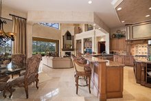 Home Plan - Mediterranean Interior - Kitchen Plan #930-413