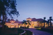 Mediterranean Style House Plan - 3 Beds 4.5 Baths 6340 Sq/Ft Plan #930-319 Exterior - Front Elevation