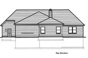 Traditional Style House Plan - 3 Beds 2 Baths 1792 Sq/Ft Plan #46-517 Exterior - Rear Elevation