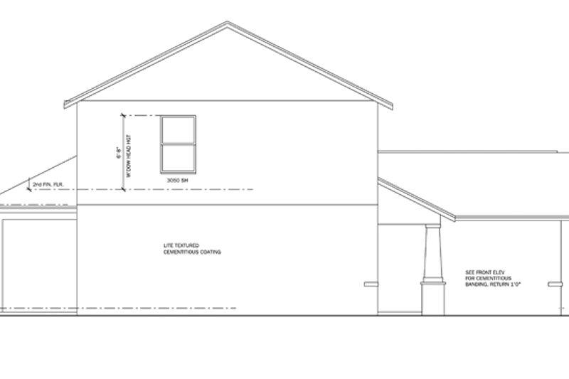 Craftsman Exterior - Other Elevation Plan #1058-20 - Houseplans.com