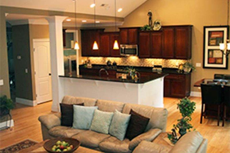 Ranch Interior - Family Room Plan #929-745 - Houseplans.com