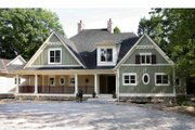 Traditional Style House Plan - 5 Beds 4.5 Baths 4624 Sq/Ft Plan #928-33 Exterior - Front Elevation