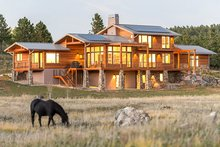Dream House Plan - Prairie Exterior - Other Elevation Plan #1042-17