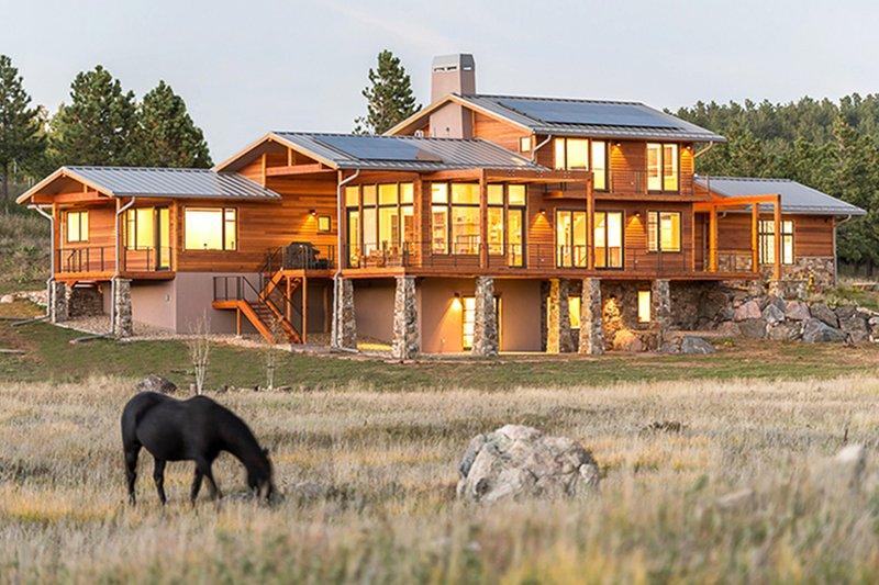 Prairie Style House Plan 4 Beds 4 Baths 3742 Sq Ft Plan