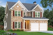 Traditional Exterior - Front Elevation Plan #419-150