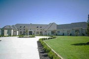 European Style House Plan - 4 Beds 4.5 Baths 6554 Sq/Ft Plan #923-69 Exterior - Front Elevation