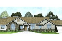 Home Plan - Traditional Exterior - Front Elevation Plan #58-182