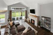 Farmhouse Style House Plan - 3 Beds 2.5 Baths 2878 Sq/Ft Plan #1070-10 Interior - Family Room