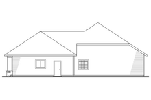 Home Plan - Right Elevation