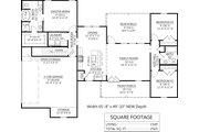 Farmhouse Style House Plan - 3 Beds 2 Baths 1474 Sq/Ft Plan #1074-26