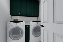 Dream House Plan - Traditional Interior - Laundry Plan #1060-49