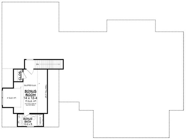 Architectural House Design - Farmhouse Floor Plan - Other Floor Plan #430-218