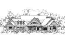 Craftsman Exterior - Front Elevation Plan #929-340
