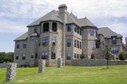 European Style House Plan - 6 Beds 8.5 Baths 7618 Sq/Ft Plan #119-172 Exterior - Other Elevation