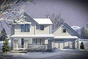 Farmhouse Style House Plan - 3 Beds 2.5 Baths 1484 Sq/Ft Plan #70-1453