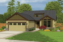 House Plan Design - Ranch Exterior - Front Elevation Plan #943-41