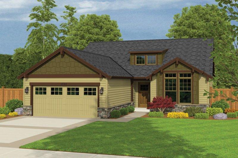 House Plan Design - Ranch Exterior - Front Elevation Plan #943-41
