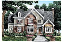 House Plan Design - European Exterior - Front Elevation Plan #927-861