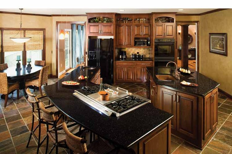 Craftsman Interior - Kitchen Plan #929-422 - Houseplans.com
