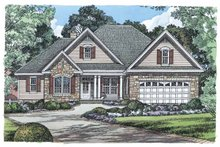 Dream House Plan - Ranch Exterior - Front Elevation Plan #929-881