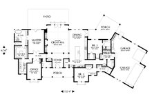 Farmhouse Floor Plan - Main Floor Plan Plan #48-1027