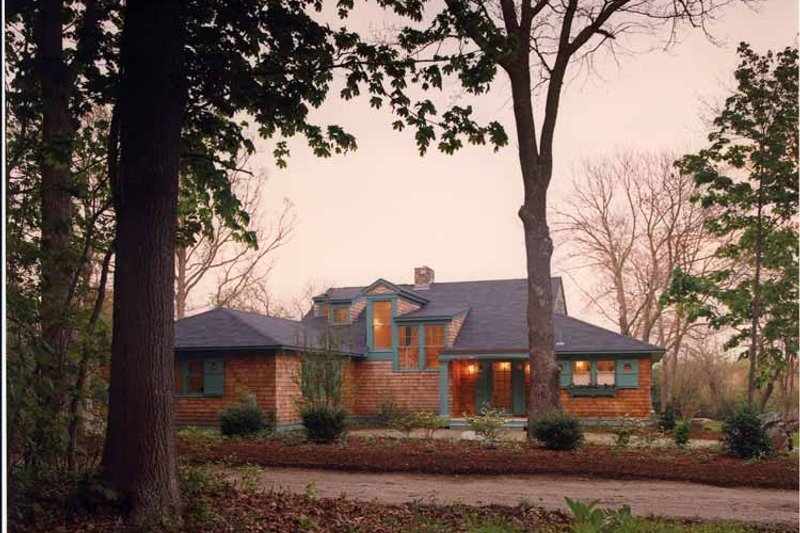 Country Exterior - Front Elevation Plan #961-1 - Houseplans.com
