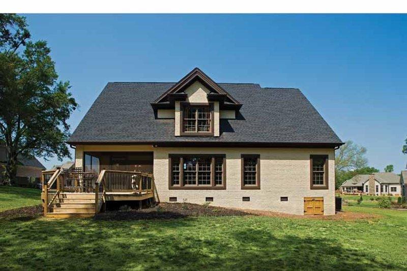 Country Exterior - Rear Elevation Plan #929-651 - Houseplans.com