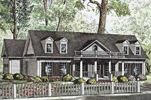 Architectural House Design - Classical Exterior - Front Elevation Plan #17-3206
