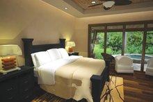 Cottage Interior - Master Bedroom Plan #120-244