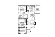 Bungalow Floor Plan - Main Floor Plan Plan #137-360
