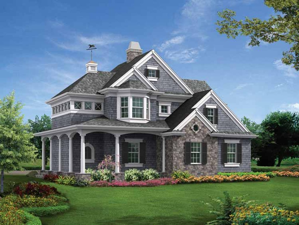 Victorian style house plan 1 beds 1 baths 825 sq ft plan for Victorian style home plans